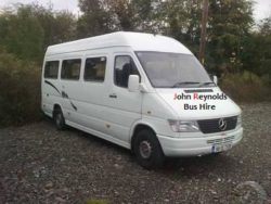 John Reynolds bus hire leitrim Rural Ireland