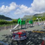 Playground at Glencar teashed Leitrim