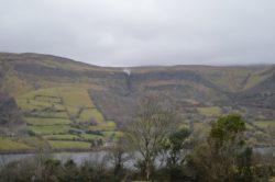The Devills Chimney waterfall Ireland