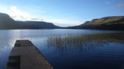 Glenade lake and valley Mountains