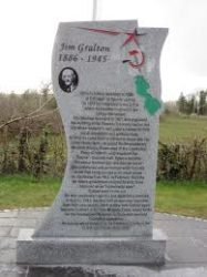 Monument to Jimmy Gralton Place West of Ireland
