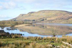 Glenade lake and valley Lake
